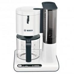 Bosch TKA8011 STYLINE - Koffiezetter, 1,25 L, Wit/Antraciet
