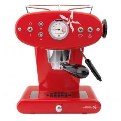 illy FrancisFrancis X1 MIE rood - Capsule systeem