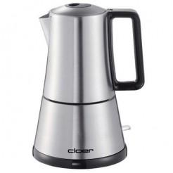 Cloer 5928 - RVS Espressokoker, 300 ml