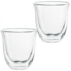 DeLonghi 2 Cappuccino Glazen - Dubbelwandige Thermoglazen