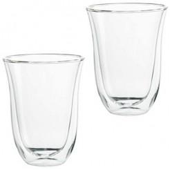 DeLonghi 2 Latte Macchiato Glazen - Dubbelwandige Thermoglazen
