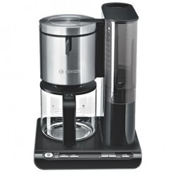 Bosch TKA8633 STYLINE - Koffiezetter, 1,25 L, Zwart/Zwart