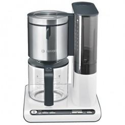 Bosch TKA8631 STYLINE - Koffiezetter, 1,25 L, Wit/Antraciet