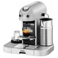 DeLonghi EN 470 - Nespresso Gran Maestria, platinium