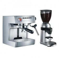 GRAEF ES 85 EU Set - Traditionele espresso +Koffiemolen CM 80