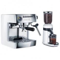 GRAEF ES 86 EU Set - Traditionele espresso + Koffiemolen CM81