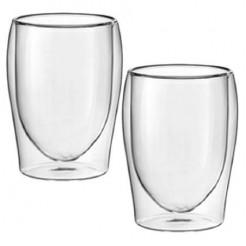 Scanpart Thermoglazen koffie - Dubbelwandig glas, 2 Stuks