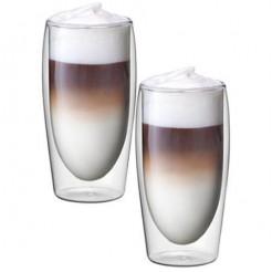 Scanpart Thermoglazen Latte Macchiato - Dubbelwandig glas, 2 Stuks