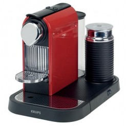 Krups XN7305 Citiz & Milk - Nespressomachine, Fire Enige Red