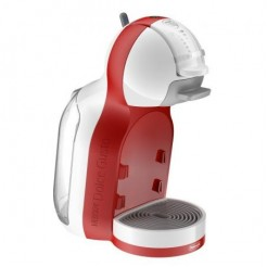DeLonghi EDG 305.WR Mini Me - Nescafe Dolce Gusto, Wit/Rood