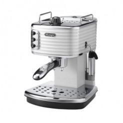 DeLonghi ECZ 351.W - Traditionele espressomachine, ZinkWit